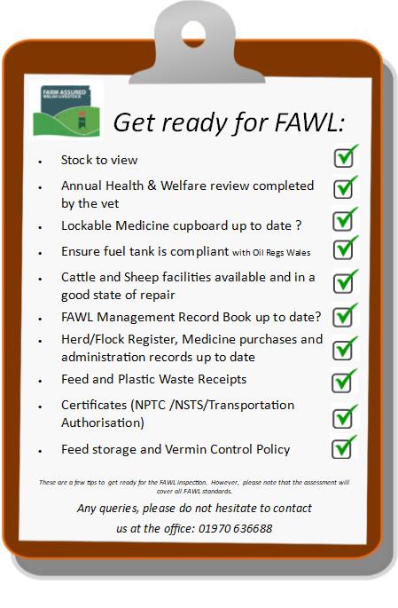 FAWL Checklist